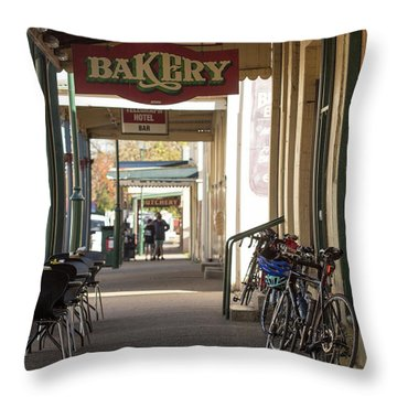 Throw Pillow featuring the photograph Undoing All The Good Work by Linda Lees