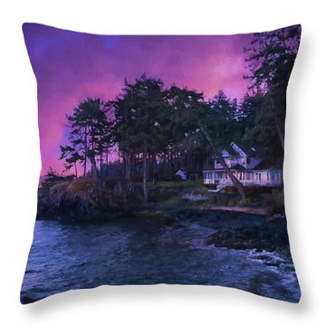 Undreamed Shores - Chesapeake Art Throw Pillow