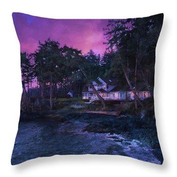 Undreamed Shores - Chesapeake Art Throw Pillow