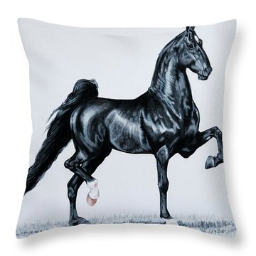 Undulata's Made In Heaven  Throw Pillow by Cheryl Poland