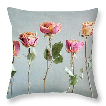 Undying Beauty Throw Pillow