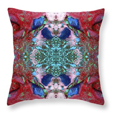 Unearthed Beauty Throw Pillow