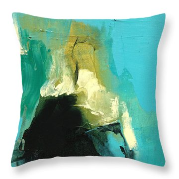 Unearthed Fire Throw Pillow