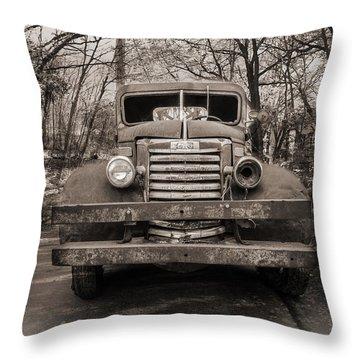 Unemployed Throw Pillow