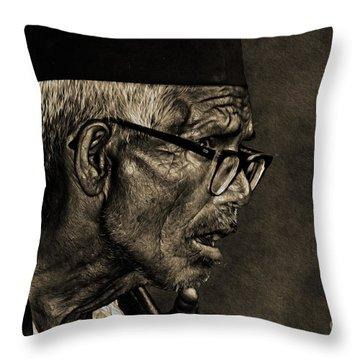 Unexpected Truth Throw Pillow by Manjot Singh Sachdeva