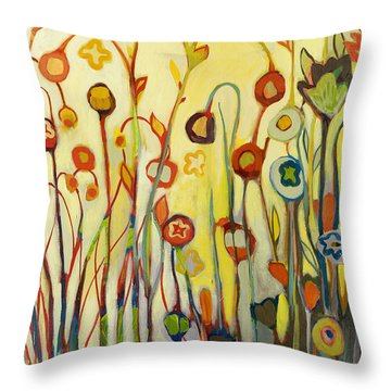 Unfolded Throw Pillow