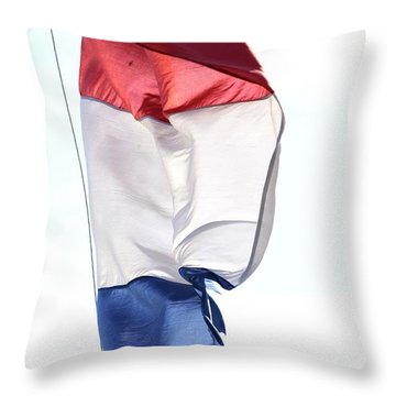 Throw Pillow featuring the photograph Unfurl 01 by Stephen Mitchell