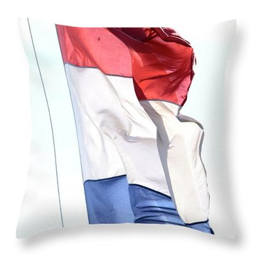 Throw Pillow featuring the photograph Unfurl 02 by Stephen Mitchell