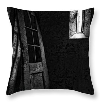 Unhinged Throw Pillow by Andrew Paranavitana