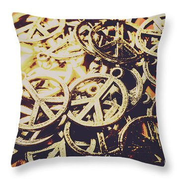 Unified Peace Throw Pillow