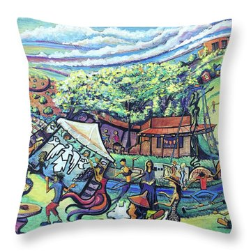 Unify Fest 2017 Throw Pillow