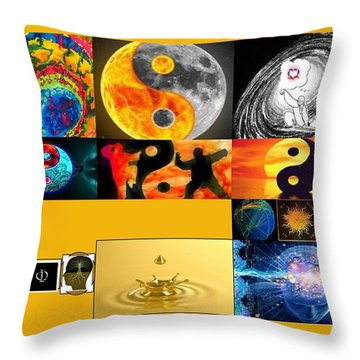 Unifying Throw Pillow