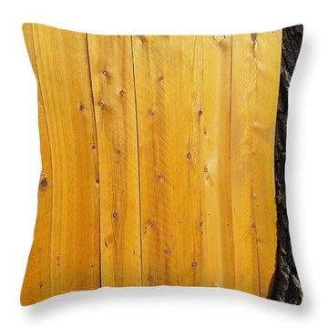 Unintended Surrealism Throw Pillow