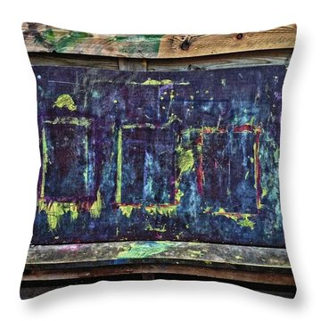 Unintentional Art Throw Pillow
