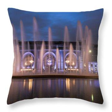 Union Fountain Throw Pillow