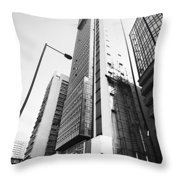 Union Bank Hq, Marina Throw Pillow