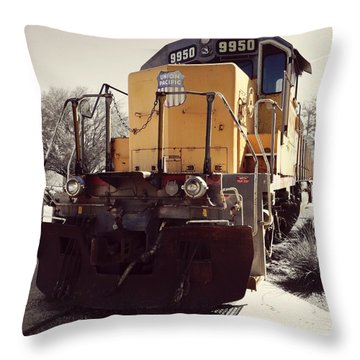 Union Pacific No. 9950 Throw Pillow