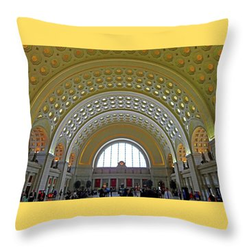 Union Station 12 Throw Pillow