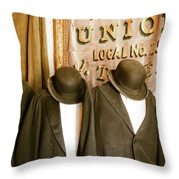 Union Vintage Clothing Throw Pillow