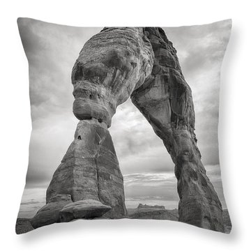 Unique Delicate Arch Throw Pillow by Adam Romanowicz