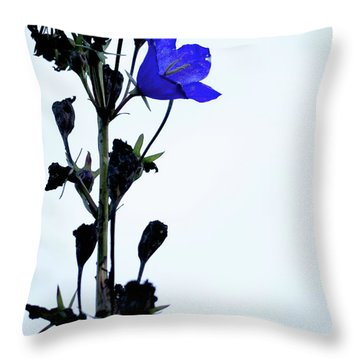 Unique Flower Throw Pillow