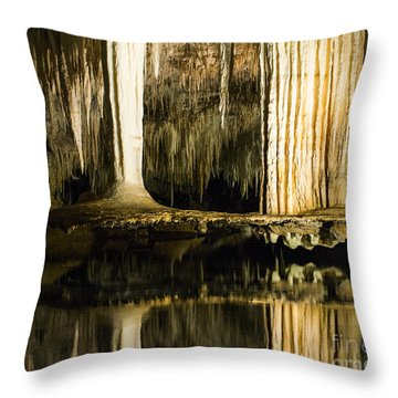 Throw Pillow featuring the photograph Unique Formation by Angela DeFrias