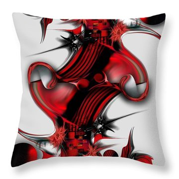 Unique Formation Throw Pillow