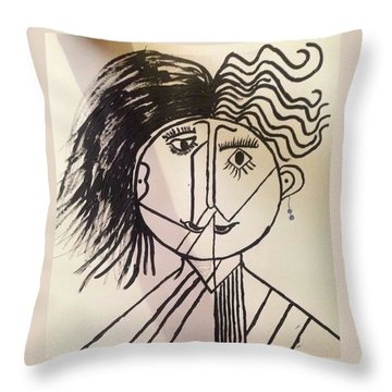 Unisex Throw Pillow