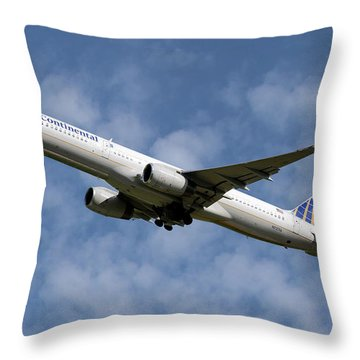 United Airlines Throw Pillows