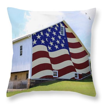 United I Stand Throw Pillow