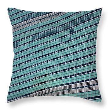 Throw Pillow featuring the photograph United Nations 2 by Randall Weidner