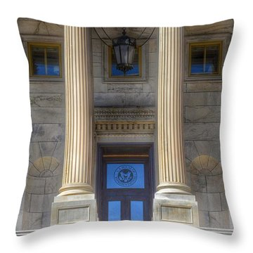 United States Capitol - House Of Representatives  Throw Pillow