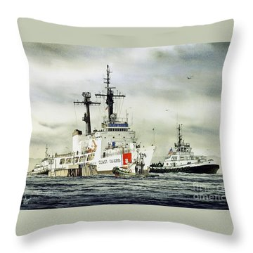 Tugboat Throw Pillows