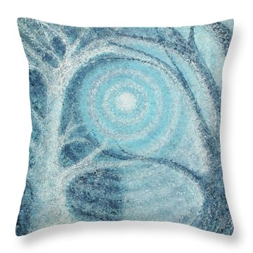 Throw Pillow featuring the painting Unity by Holly Carmichael