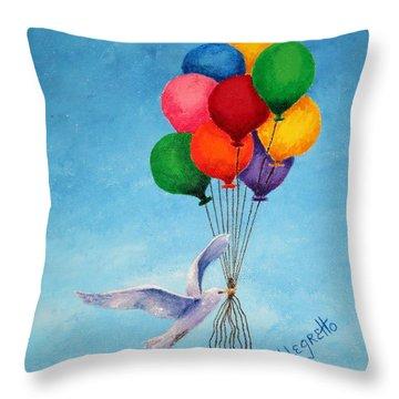 Unity Throw Pillow by Pamela Allegretto