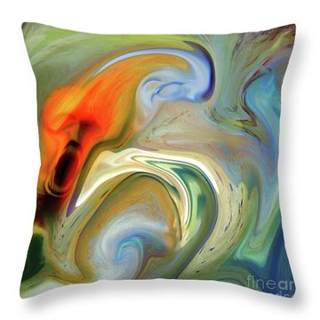 Universal Fear Throw Pillow