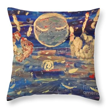 Universal Love Throw Pillow