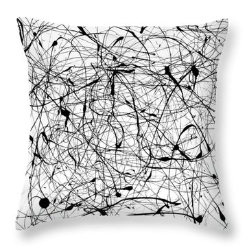 Universal Painting Throw Pillow