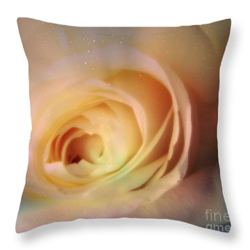 Throw Pillow featuring the photograph Universal Rose by Kristine Nora