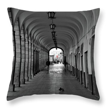 Universal Sign Throw Pillow