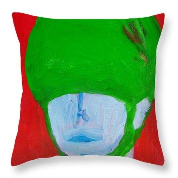 Universal Solider Throw Pillow by Judith Redman