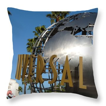 Universal Studios Globe Throw Pillow