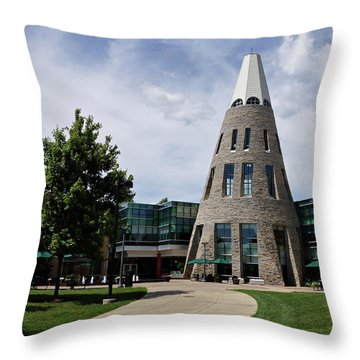 University Center Throw Pillow