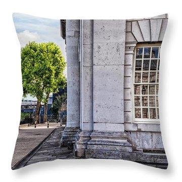 University Corner Throw Pillow