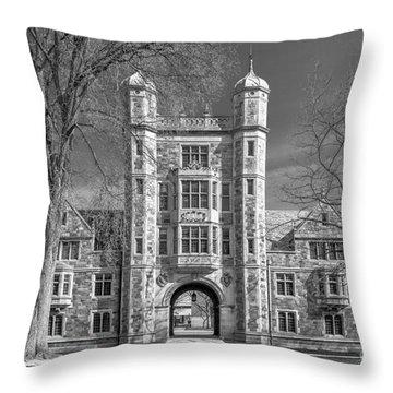 University Of Michigan Throw Pillows