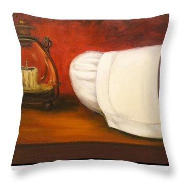 University Of Minnesota School Of Nursing Throw Pillow by Marlyn Boyd