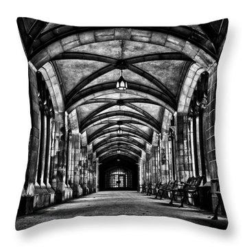 University Of Toronto Knox College Cloister No 1 Throw Pillow