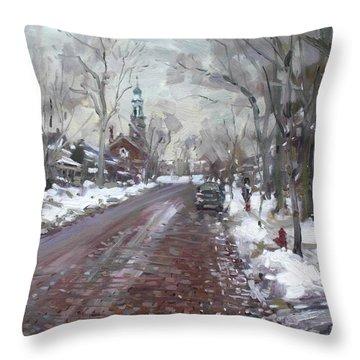 University Presbyterian Church Throw Pillow