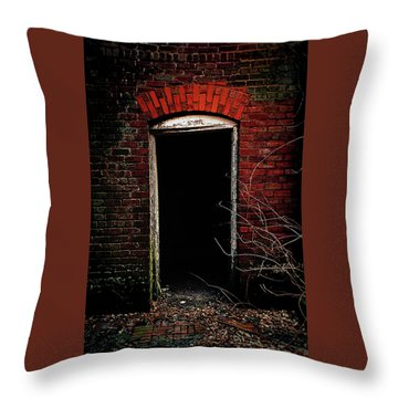 Throw Pillow featuring the photograph Unknowing by Jessica Brawley