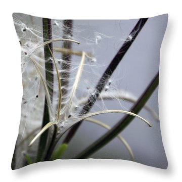 Unknown Flower Throw Pillow by Svetlana Sewell